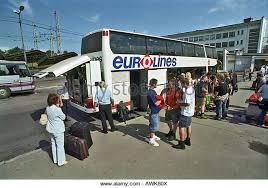 bureau eurolines latvia coach stock photos latvia coach stock images alamy