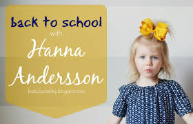 back to with hanna andersson a coupon code baby by oakley