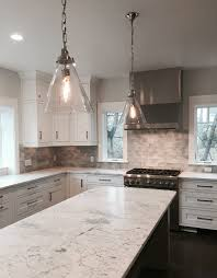 Subway Tile Backsplash In Kitchen Rain Glass Silver Backsplash Glass Tile Thetileshop Your