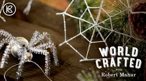 diy spider tree ornament world crafted