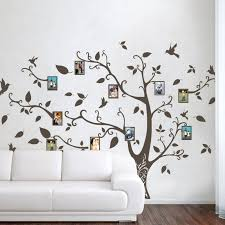 Wall Tree Decals For Nursery Geckoo Wall Decor Photo Frame Family Tree Wall Decals Wall