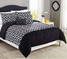 Better Homes Comforter Set Black And White Damask 5 Piece Bedding Comforter Set From Better