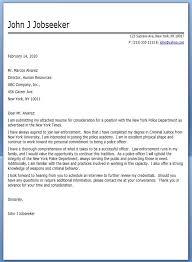 charming inspiration police cover letter 14 officer sample cv