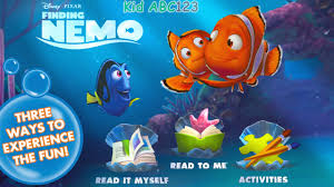 finding nemo movie official storybook deluxe disney bedtime