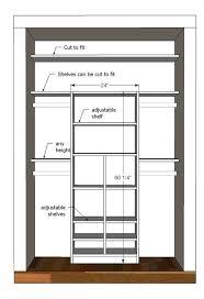 chic built closet design best 25 small bedroom closets ideas on