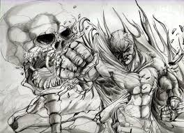 batman draw danielebyart deviantart