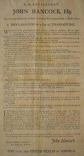proclamation thanksgiving day 1781 massachusetts wallbuilders