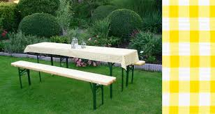 Garden Bench With Cushion Beer Garden Set With Table Cloth Cushion Set