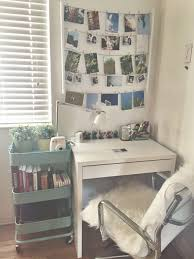 Small Desk Bedroom Cozy Ikea Raskogcart Pinteres