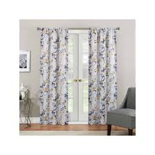 eclipse paige thermaweave room darkening curtain yellow room