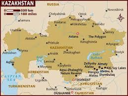 middle east map kazakhstan map of kazakhstan