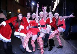 Christmas Party Nights Blackpool - britain wakes up after year u0027s biggest christmas parties night out