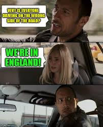 The Rock Driving Meme - the rock driving confused imgflip