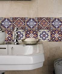 stickers pour cuisine d馗oration impressionnant rénover salle de bain utilisant stickers carreaux