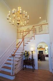 luxurious foyer chandelier gaining fabulous room nuances interior