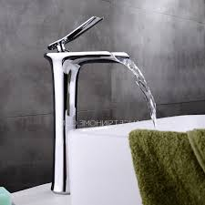 High End Bathroom Sink Faucets Bathroom High End Faucets Intended For Copper Tall Vessel