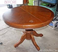 A Bubbly LifeHow To Paint A Dining Room Table  Chairs Makeover - Painting a dining room table