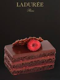 ladurêe tentation dark chocolate biscuit raspberry jam