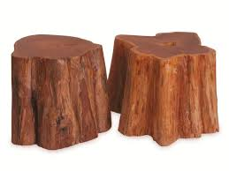 Wood Block Side Table Contemporary Side Table Wooden In Reclaimed Material Teak