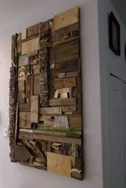 scrap wood wall using recycled scrap materials for wood wall