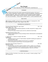 Sample Banking Resumes by Mis Resume Resume For Your Job Application