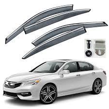 clip on visor light buy honda accord 2013 2017 premium stainless steel chrome lining
