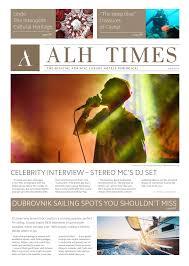 alh times 2016 edition by adriatic luxury hotels issuu