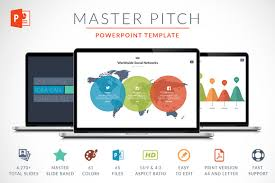 powerpoint pitch book template master pitch powerpoint template