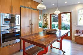 wooden kitchen island legs metal kitchen island legs with wheel and wooden slab