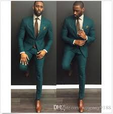 men wedding 2017 new custom made green men wedding suits formal groom