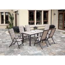 Patio 7 Piece Dining Set - meadow decor kingston 7 piece round patio dining set pacifica 7