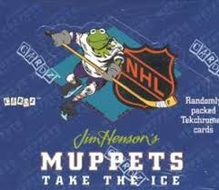 jim henson s muppets take the nhl trading cards muppet wiki