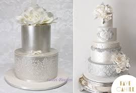 silver wedding cakes new year s wedding cakes cake magazine