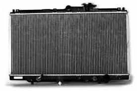 1994 honda accord radiator amazon com tyc 1494 honda accord 1 row plastic aluminum