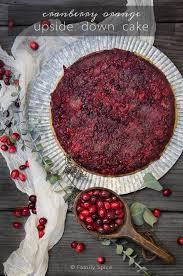 favorite holiday dessert orange cranberry upside down cake