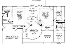 16 1800 floor plans single story open single story open floor