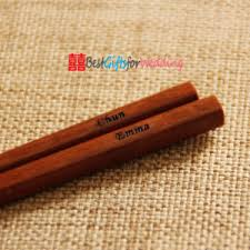 engraved chopsticks china engraved personalized wood chopsticks brown