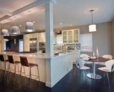 kitchen island with posts 30 modern white kitchen design ideas and inspiration kitchens