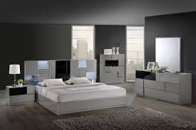 Bedroom Furniture Nyc Bedroom Set By Global W Platform Bed 2 Nightstands