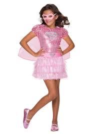 young girls halloween costumes girls pink supergirl sequin tutu costume