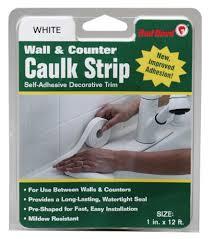 Best Caulk For Bathtub Amazon Com Red Devil 0151 Wide White Tub U0026 Wall Caulk Strip 1 5 8