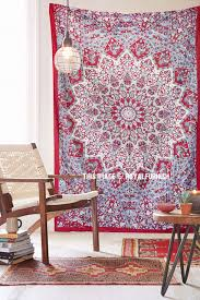 home decor tapestry maroon small indian dorm decor star hippie tapestry wall hanging