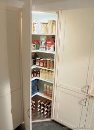 Mini Corner Pantry Photo Kitchencabinetsmoderntwotone - Kitchen corner pantry cabinet
