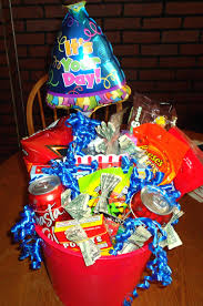 birthday gift baskets for thanksgiving college students