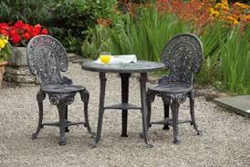 Tesco Bistro Chairs Buy Wenlock 3 Pce Bistro Set From Our Plastic Garden Furniture