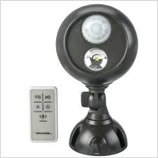 battery powered motion detector light battery operated motion light outdoor spotlight an indoor outdoor