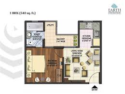 1 bhk floor plan 1 bhk 540 sqft floor plan