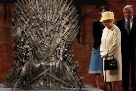 queen elizabeth ii visited the game of thrones set time