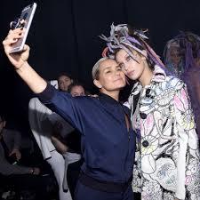 yolanda hadid attends victoria u0027s secret fashion show