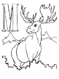 moose coloring pages coloring page